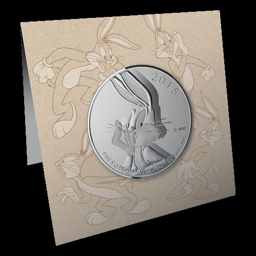 1/4 oz Silbermünze - $20 für $20 Looney Tunes™ Bugs Bunny - 2015