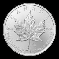 1 oz kanadische Palladiummünze - Ahornblatt - 2015