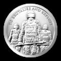 Stříbrná mince Otrok policie 2015, 1 oz