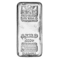 1 kg Republic Metals Corporation Silberbarren