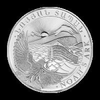1 oz armenische Silbermünze - Arche Noah - 2012