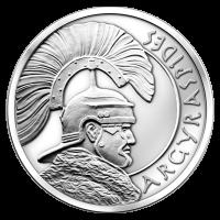 2 oz Silbermedaille - Argyraspides - 2015