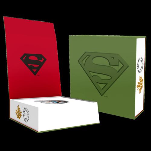 1 oz Silbermünze - klassisches Superman™ Comic Titelbild | Action Comics #1