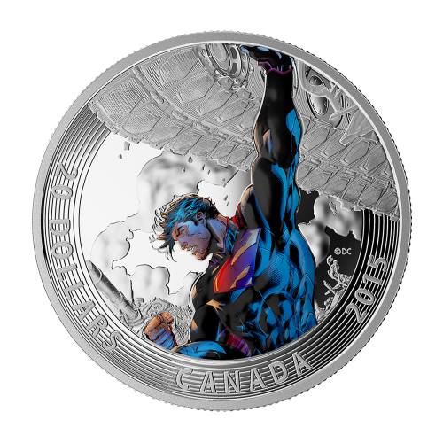 1 oz 2015 Iconic Superman™ Comic Book Covers | Superman™ Unchained #2 Silver Coin