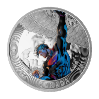 1 oz 2015 Iconische Superman™ Stripboekcovers | Superman™ Ontketend #é Zilveren Munt