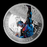 1 oz Silbermünze - klassisches Superman™ Comic Titelbild   Superman™ Unchained #2