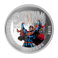 1 oz Silbermünze - klassisches Superman™ Comic Titelbild | Superman™ #28