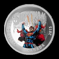 1 oz Silbermünze - klassisches Superman™ Comic Titelbild | Superman™ #28