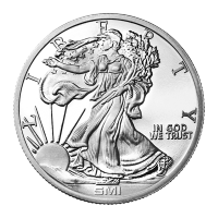 1 oz Sunshine Mint Walking Liberty Silver Round