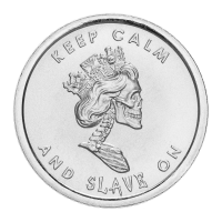 1oz 2013 Slave Queen Wide Reed Silver Round | Chris Duane Personal Collection