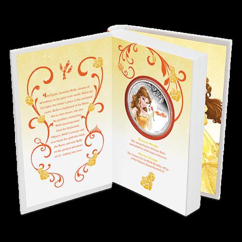 1 oz Silbermünze - Disney Prinzessin Belle - 2015