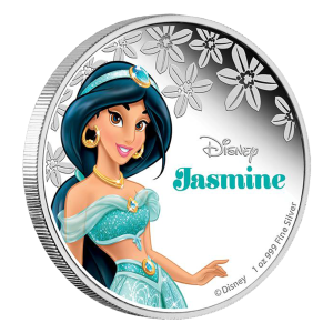 1 oz 2015 Disney Princess Jasmine Silver Coin