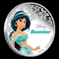 1 oz Silbermünze - Disney Prinzessin Jasmine - 2015
