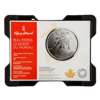 Tom monsterbox för 1/2 uns Royal Canadian Mint Silvermynt