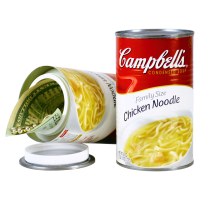 Campbell's Hühnchen Nudelsuppe getarnter Safe