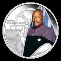 1 oz Silbermünze - Star Trek Captain Benjamin Sisko - 2015 limitiert