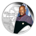 1 oz 2015 Star Trek Captain Benjamin Sisko Silver Proof Coin