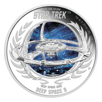 1 oz 2015 Star Trek Deep Space Nine | DS9 proof sølvmynt