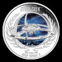 1 oz Silbermünze - Star Trek Deep Space Nine | DS9 - 2015 limitiert