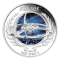 Moneda de Plata Proof Star Trek Espacio Profundo Nueve| DS9 2015 1oz