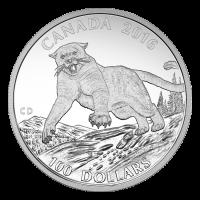 1 oz Silbermünze - $100 für $100 Puma - 2016
