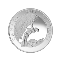 1/2 oz Silbermünze - Abenteuer Kanada: Eisklettern - 2015