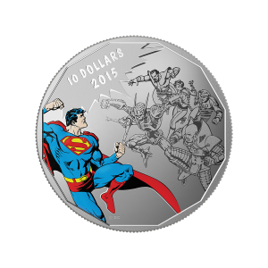 Moneda de Plata  DC Comics™ Originales: Gauntlet 2015 de 1/2 oz
