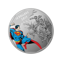 1/2 oz 2015 DC Comics™ Originals: Gauntlet 銀貨