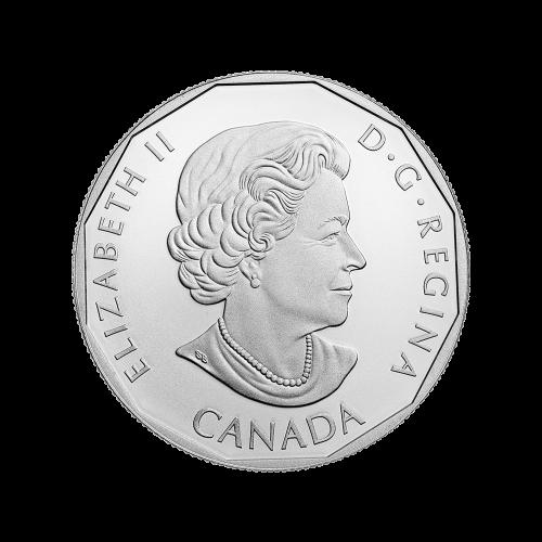 """Ein buntes, stehendes Supergirl™, ihre Hände auf den Hüften und die Worte """"10 Dollars 2015""""."""