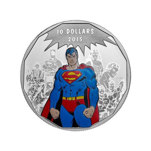 1/2 oz 2015 DC Comics™ Originals: Legacy Silver Coin