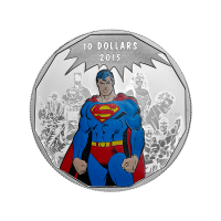 1/2oz 2015 DC Comics™ Originals: Legacy Silver Coin