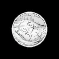 1/4 oz Silbermünze - $20 für $20 Lebkuchenmann - 2015