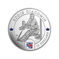1/2 oz 2015 Goalies | Eddie Giacomin Silver Proof Coin