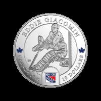 1/2 oz Silbermünze - Torwarte | Eddie Giacomin - 2015 limitiert