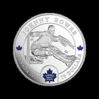 1/2 oz Silbermünze - Torwarte | Johnny Bower - 2015 limitiert