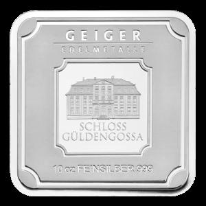 10 oz Geiger Edelmetalle Silver Bar