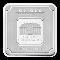 10 oz Geiger Edelmetalle Silberbarren - Security Line