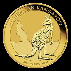 1 oz 2016 Australian Kangaroo Gold Coin