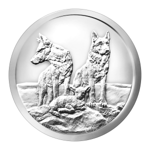 1 oz 2015 Silver Shield Aware and Prepared Silver Round
