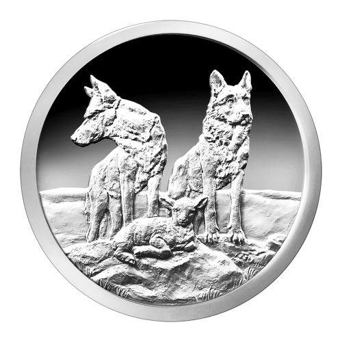 1 oz 2015 Silver Shield Aware and Prepared Silver Proof-Like Round