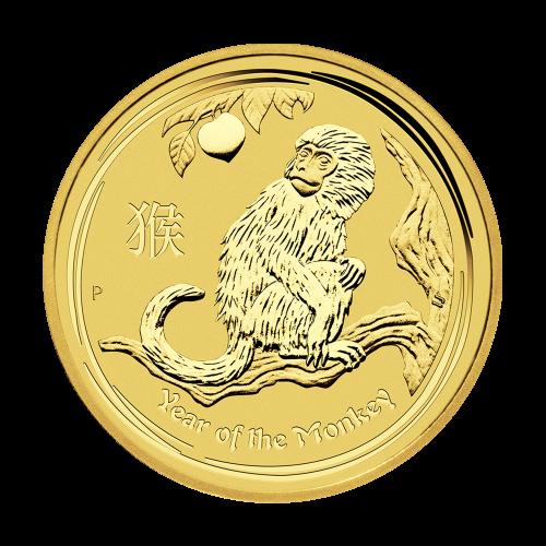 """Das Abbild der Königin Elizabeth II., mit den Worten """"Elizabeth II Australia 50 Dollars 1/2 oz 9999 Gold 2016"""" (Elizabeth II. Australien 50 Dollar 1/2 oz 9999 Gold 2016)."""