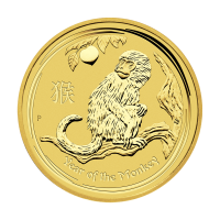 1/2oz 2016 Perth Mint Lunar Year of the Monkey Gold Coin
