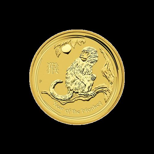 """Das Abbild der Königin Elizabeth II., mit den Worten """"Elizabeth II Australia 25 Dollars 1/4 oz 9999 Gold 2016"""" (Elizabeth II. Australien 25 Dollar 1/4 oz 9999 Gold 2016)."""