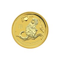 1/4 oz 2016 Perth Mint Lunar Year of the Monkey Gold Coin