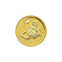 1/10oz 2016 Perth Mint Lunar Year of the Monkey Gold Coin