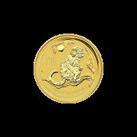 1/10 oz Goldmünze Jahr des Affen Perth Prägeanstalt Mondserie 2016