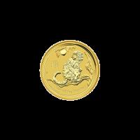 1/20 oz Goldmünze - Perth Prägeanstalt - Jahr des Affen - 2016