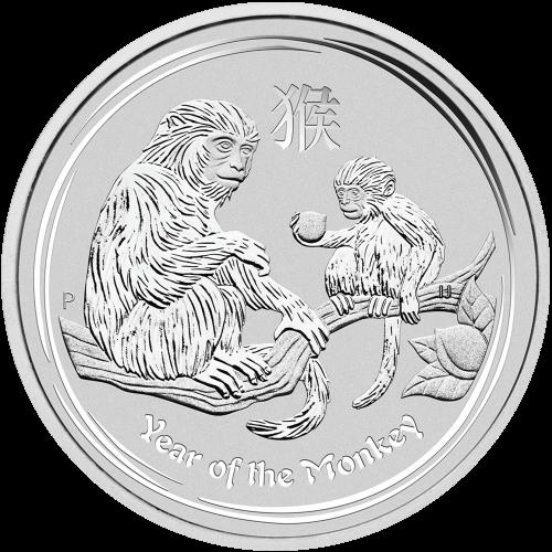 1 kg | kilo 2016 Perth Mint Lunar Year of the Monkey Silver Coin