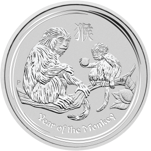 1 kg | kilo 2016 Perth Mint Lunar Year of the Monkey Silver Coin
