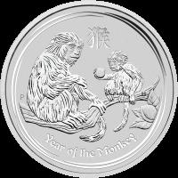 1 kg Silbermünze Perth Prägeanstalt - Jahr des Affen - 2016